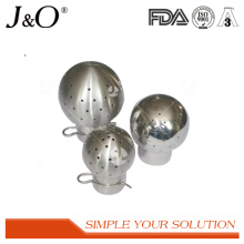 Stainless Steel Sanitary Weld Fixed Cleaning Ball