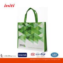 Высококачественная 100% экологически чистая нетканая сумка для покупок