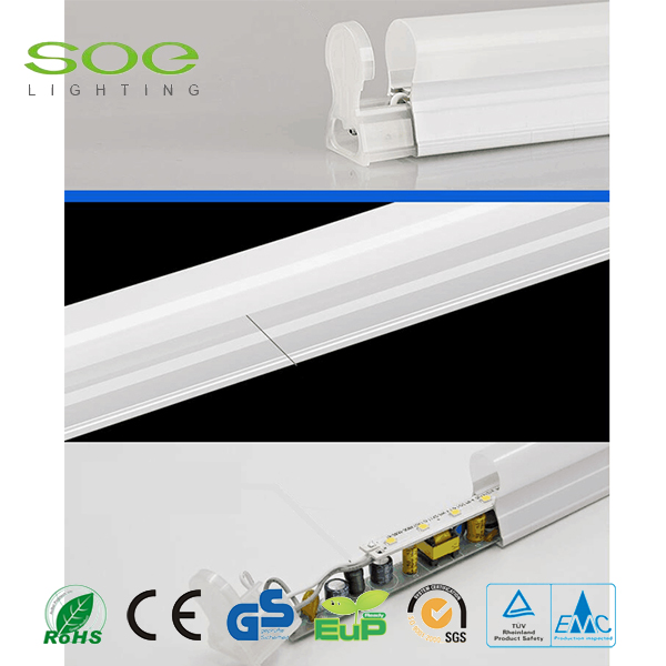 CE ROHS T5 Plástico Led Tube Light