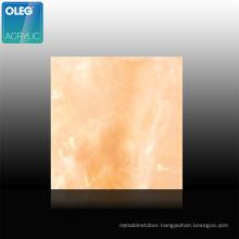 OLEG UV resistant marble board cloud sheet marble effect acrylic sheet
