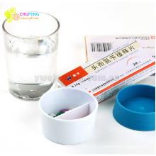 Tasse d'eau avec pilulier portable bouteille d'eau avec pilulier pilulier bouteille d'eau