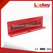 Locks Padlock Station with 10 padlocks