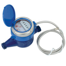 Medidor de agua de radio remota de lectura directa fotoeléctrica RS485 / Mbus Communcation