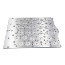 High speed Aluminum plate parts cnc machining