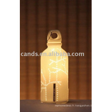 Bouteille forme Creative Home Craft lampe
