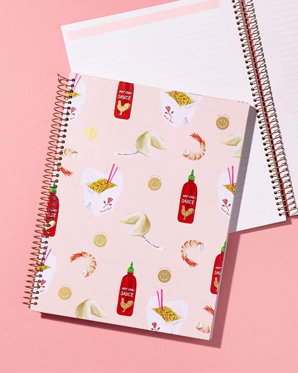 Food Spiral Notebook 3