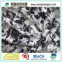 100% Polyester Elastisches Koshibo Gewebe Gedruckt