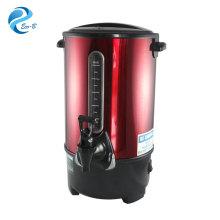 Chaleira elétrica comercial de aço inoxidável de 1500 W com economia de energia, urna automática OEM para caldeira de água e chá