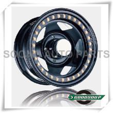 """5 Star-Beadlock Wheels GS-501 Stahlrad von 15 """"bis 17"""" mit verschiedenen PCD, Offset und Vent Loch"""