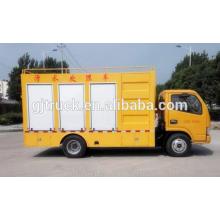 Las aguas residuales de 4X2 Dongfeng purifican el camión / las aguas residuales purifican el camión del tratamiento / las aguas residuales al camión de la purificación del agua potable
