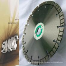 Lámina de diamante Turbo Laser para granito