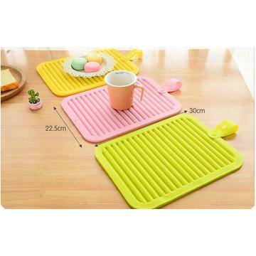 Candy Color Foldable Table Food Cup Pad
