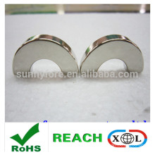 china supplier strong half round magnet