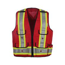 Class 2 Hi-Viz Safety Vest with Pockets