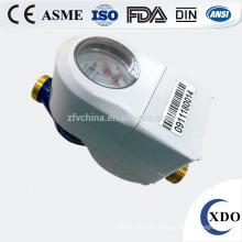 medidor de flujo de agua doméstica de latón 1/2 pulgada china