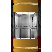 SGS Aprovado elevador Sightseeing à venda