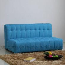 Modern Living Room Sofa Set with Blue Fabric Upholstery (SP-KS368)