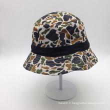 Chapeau à godet imprimé OEM avec votre design de mode (ACEK0113)