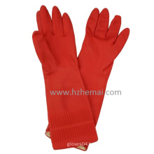 Long Househol Latex Gloves Cleanning Rubber Gloves Kitchen Latex Gloves