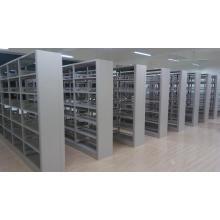 Librería grande de la esquina del metal del almacenaje