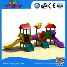 Equipamento exterior comercial do campo de jogos do parque de diversões de Kidsplayplay para crianças