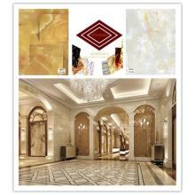 Decoração de interiores Painel de parede Design de mármore Folha UV clara