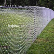 Clôture de maillon de chaîne de haute qualité pour les terrains de baseball