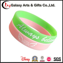 Custom Glow in The Dark Promotion Fashion Rubber Luminous Wristband