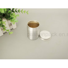Food Grade Aluminium Teetin Dose mit Schraubdeckel (PPC-AC-056)