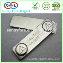 45*13mm block magnet souvenir with 3M adhesive