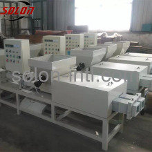 Waste sawdust pallet feet making packing machine