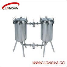 Wenzhou Sanitary Stainless Steel Duplex Strainer