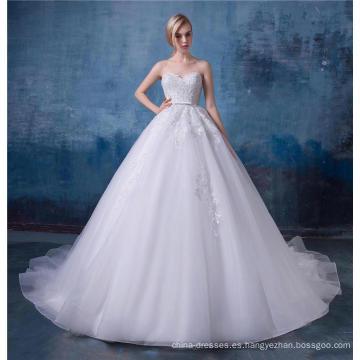 Precioso vestido de novia bordado 2017