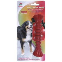 "Percell 6 ""Nylon Dog Chew Espiral Osso Rasberry Perfume"