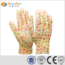 SUNNYHOPE garden gloves nylon