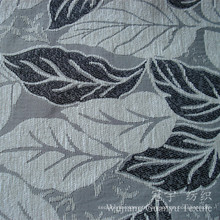 Tissu Jacquard décoratif en chenille 100% polyester