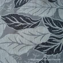 Tecido de jacquard 100% poliéster de chenille decorativo