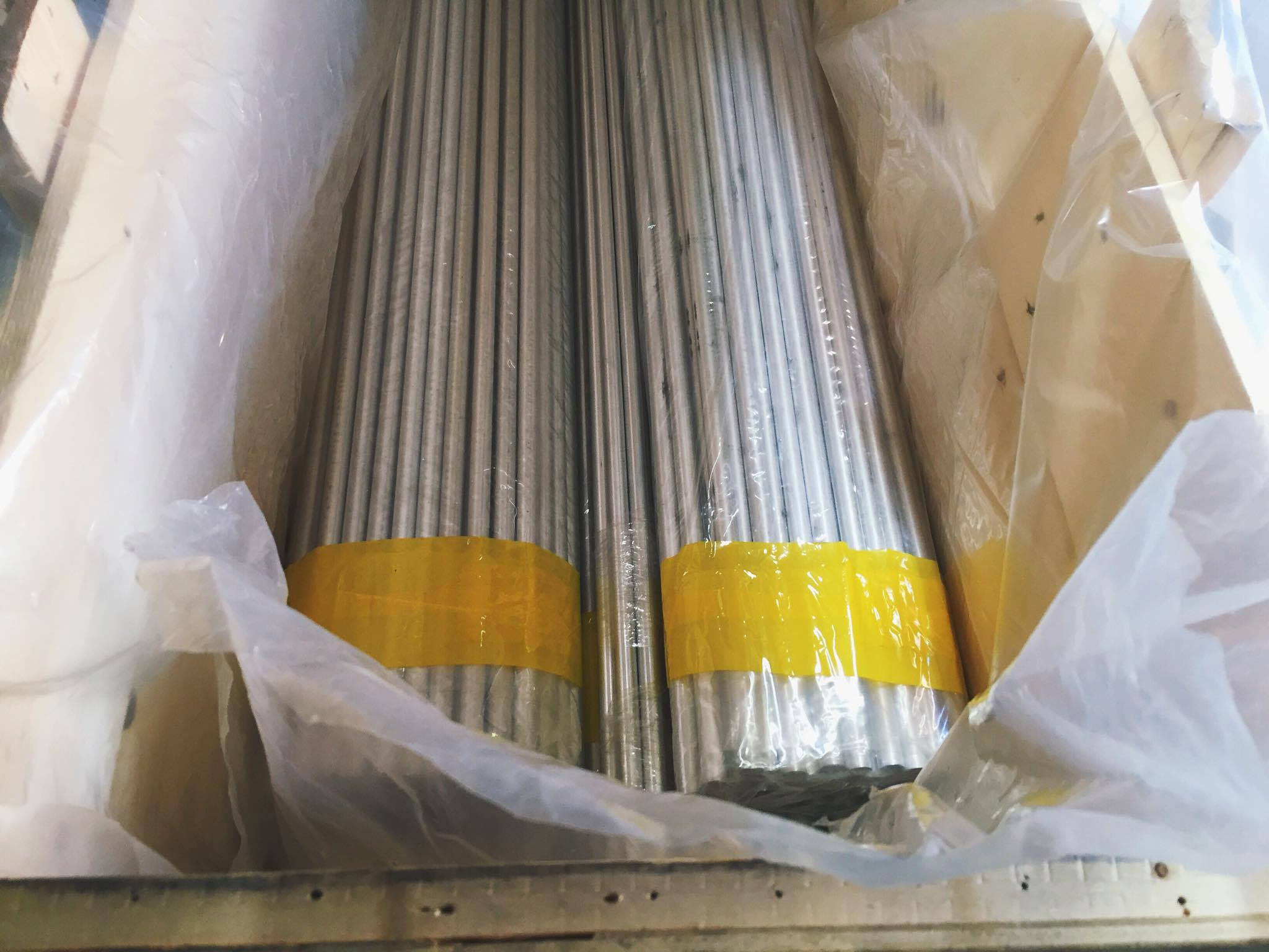 cold drawn 7075 Aluminum pipe