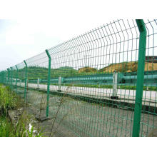 Clôture à double tranchant / barrière de sécurité