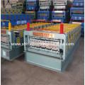 Professioneller Hersteller hochwertiger Doppelschicht Dach Roll Formmaschine