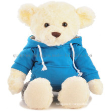 Custom Plush and Stuffed Teddy Bear Toy for Promotional Gift