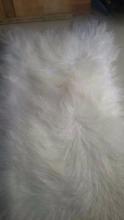 long hair sheep skin for coat
