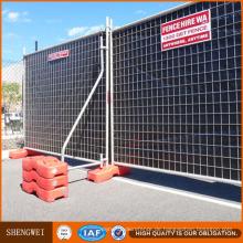 Heißer Verkauf 60X150mm Mesh Infill Temporäre Zaun Panels