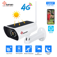 1080P gsm 4G solar powered security camera