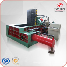 Side Push-out Automatic Metal Chips Scraps Pressing Machine