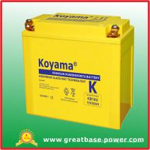 Batterie de batterie de batterie de Koyama 12V 20ah
