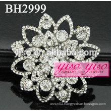 custom made flower jewelry brooches