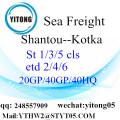 Shatou LCL Conslation Service to Kotka