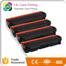 Compatible Toner Cartridge for HP 201X 201A CF400X CF401X CF402X CF403X for HP Laserjet PRO M252dw Mfp M277dw