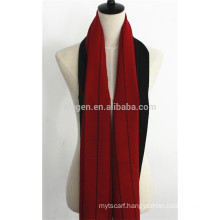 Men 100%Wool Double-Faced Scarf